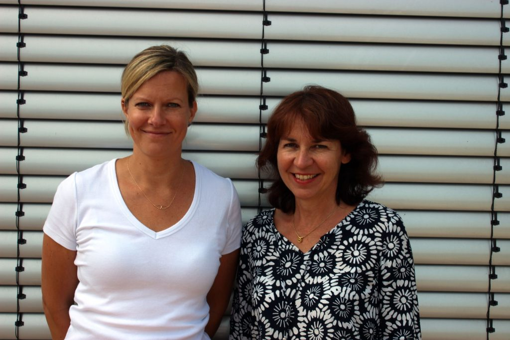 Frau Baran und Frau Deggelmann
